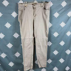 Classic Blue Kahki Jeans